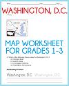 Washington, D.C., Map Worksheet