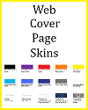 Web Cover Page Skins