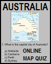 Australia Online Map Quiz