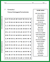 Famous Nutmeggers Word Search