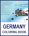 Germany Coloring Book for Kids