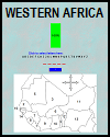 Western African Countries Map ID Game