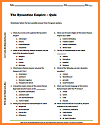 Byzantine Empire Multiple-Choice Quiz