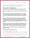 Declaration of Dependence (NCLC, 1913) Child Labor Laws DBQ Worksheet