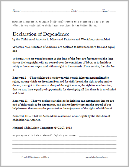 click here to print this dbq worksheet. Black Bedroom Furniture Sets. Home Design Ideas