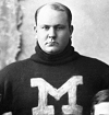 Edwin C. Denby as a Michigan Wolverine in the 1890s.