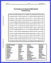 Emergence and Spread of Belief Systems Word Search Puzzle