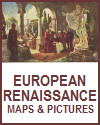 European Renaissance Maps and Pictures
