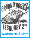 Groundhog Day (2/2) Worksheets and Activities