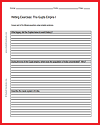 Gupta Empire of India Writing Exercises Handout #1