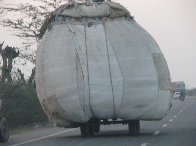 Along a Highway in India