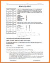 Printable Guide for Calculating Student G.P.A.