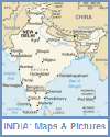 Map and Picture Gallery of India