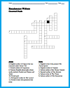 Renaissance Writers Crossword Puzzle