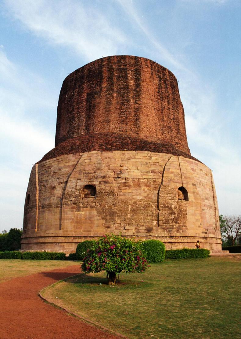 Dhamek Stupa in Uttar Pradesh, India