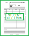 Basic Student Information Form