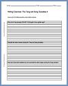 Tang and Song Dynasties Writing Exercises Sheet #2
