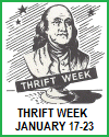 Thrift Week Printables (January 17-23)