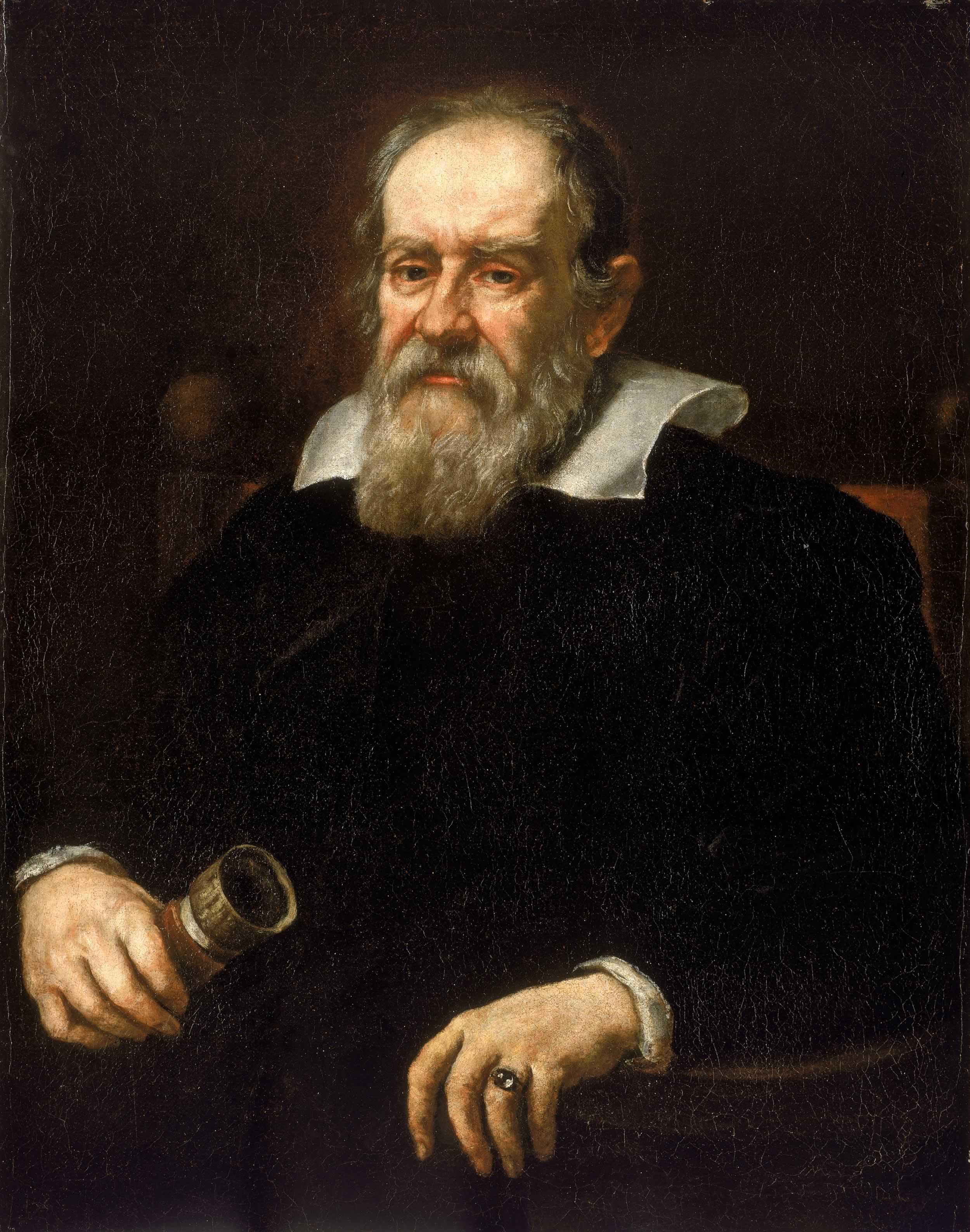 Galileo Galilei - Portrait by Jusus Sustermans (1636)