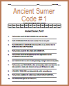 Ancient Sumer Code Puzzle #1