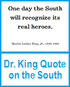 Dr. King Printable Quote on the South