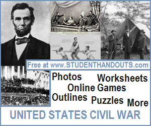 United States Civil War and Reconstruction Educational Materials
