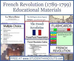 french revolution pop quiz free to print student handouts. Black Bedroom Furniture Sets. Home Design Ideas