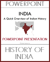 Overview of India's History PowerPoint