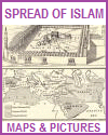Spread of Islam Maps and Pictures