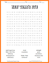New Year's Eve Word Search Puzzle