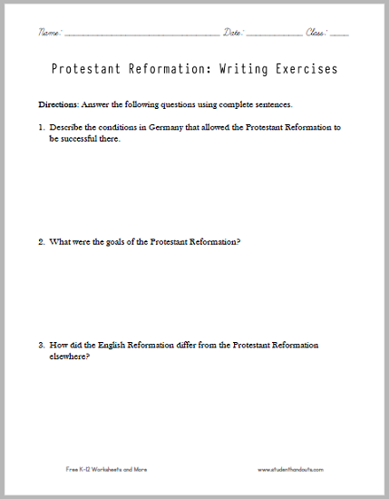 church history the protestant reformation essay History of the protestant reformation the main causes that lead to the protestant reformation were the different church corruptions reformers were intent to bring back as a german monk who struggled with the church's traditional beliefs, martin luther was the first reformer of the protestant reformation .