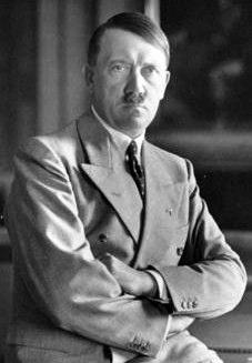 German dictator Adolf Hitler, photographed in 1933.