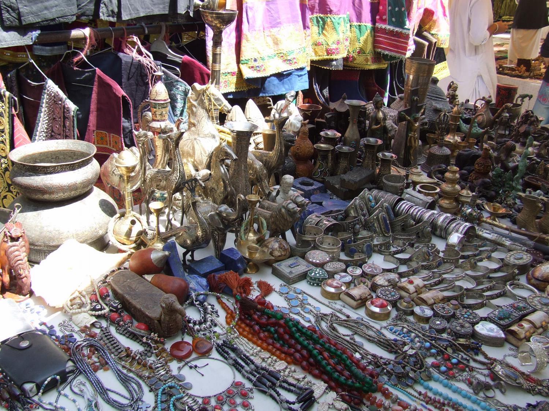 Bazaar in Kabul, Afghanistan