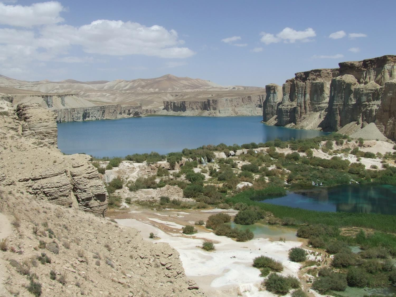 Afghanistan's Turquoise Lakes in Bamyan Province