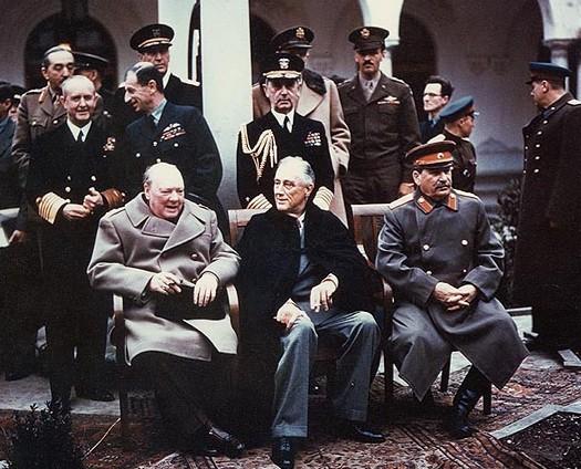 Big Three at the Yalta Conference, 1945