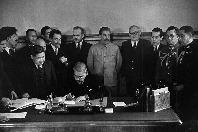 Soviet-Japanese Neutrality Pact, 1941