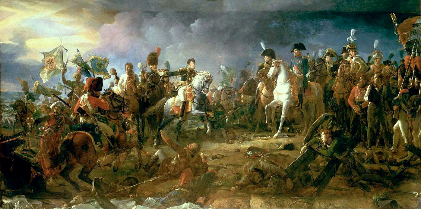 The Battle of Austerlitz by Francois Pascal Simon (1810)