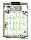 Frankenweenie Monster Pet Maze Printable Puzzle