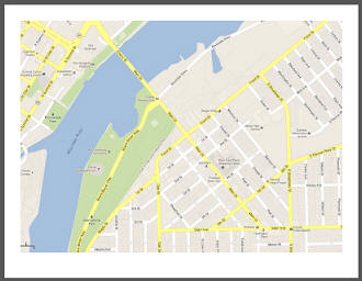 Neighborhood MAP DIY Puzzle Project