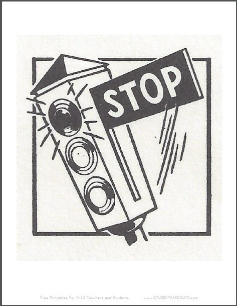 Stop Sign Traffic Light