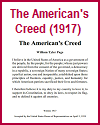 American's Creed (1917)