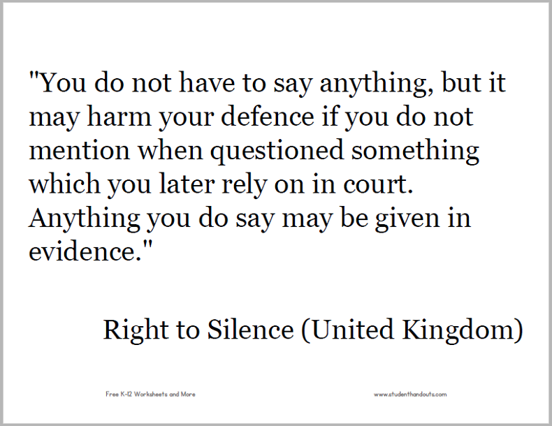 You do not have to say anything, but it may harm your defence if you do not mention when questioned something which you later rely on in court. Anything you do say may be given in evidence.