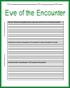 Eve of the Encounter Writing Exercises