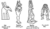 Four Gods of Ancient Egypt