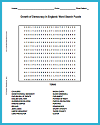 Growth of Democracy in England Word Search