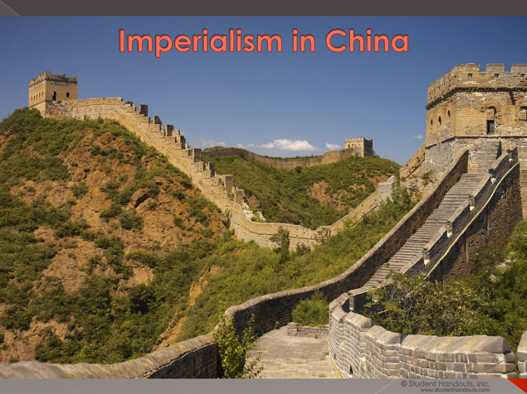 Imperialism in China PowerPoint Presentation - Multiple formats. Includes guided student notes. For high school World History students.