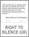 U.K. Right to Silence Statement