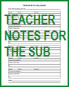 Teacher Notes for the Substitute