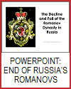 Fall of the Romanov Dynasty Powerpoint