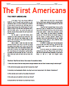 """""""The First Americans"""" Reading with Questions"""
